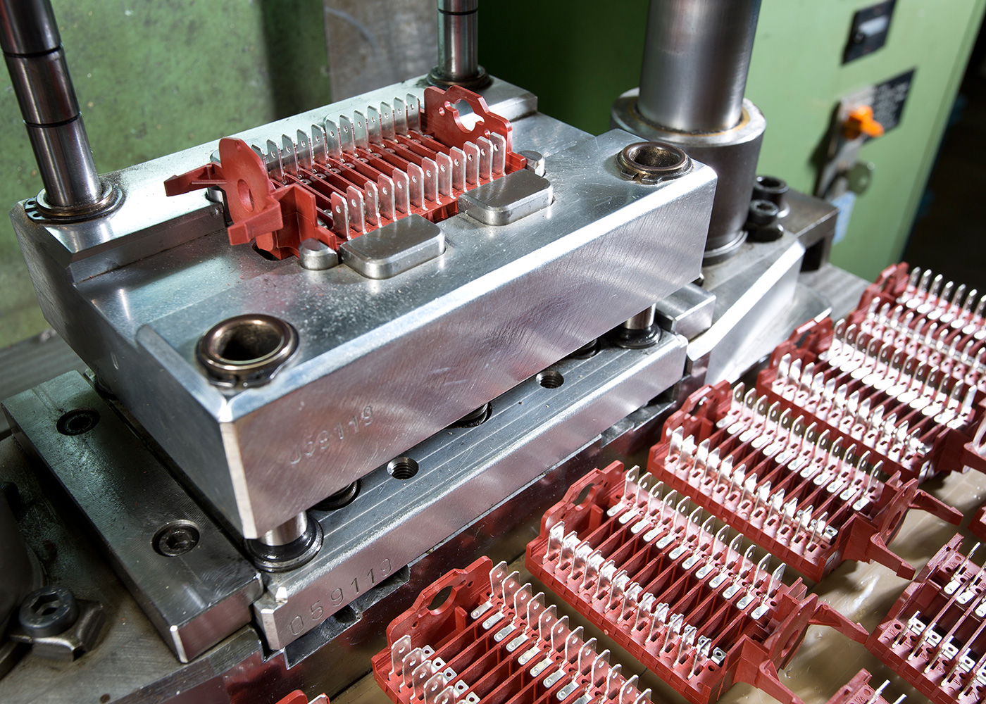 Rotary switches production